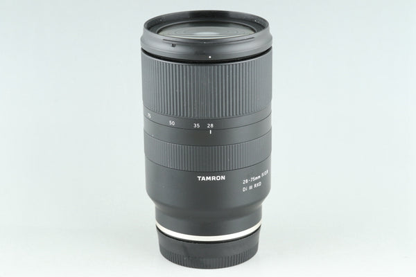 Tamron 28-75mm F/2.8 Di III RXD Lens for Sony E #25618G4