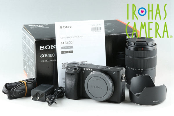 Sony a6400 + E 18-135mm F/3.5-5.6 OSS Lens Kit *Japanese Language Only*#25619