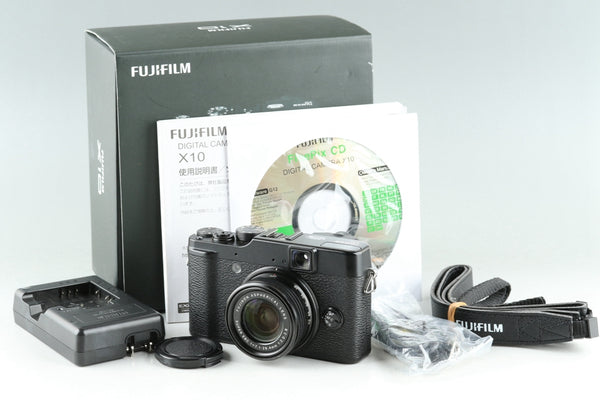 Fujifilm X10 Digital Camera With Box #25621