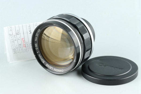 Canon 50mm F/0.95 Lens Modified to Leica M #25669F4