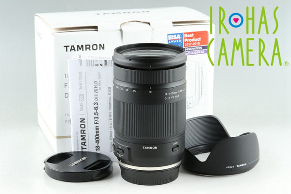 Tamron 18-400mm F/3.5-6.3 Di II VC HLD Lens for Canon With Box #25674