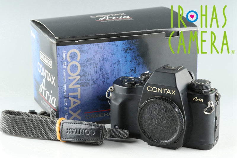 Contax Aria 35mm SLR Film Camera With Box #25691