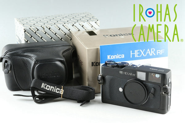 Konica Hexar RF 35mm Rangefinder Film Camera With Box #25692