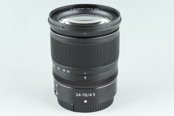 Nikon Nikkor Z 24-70mm F/4 S Lens for Nikon #25700H1