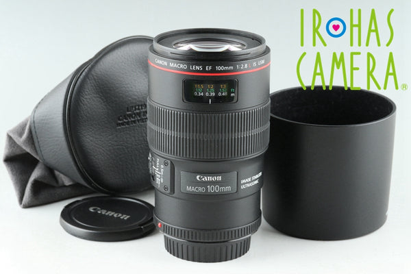 Canon EF Macro 100mm F/2.8 L IS USM Lens #25702F6