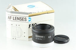Minolta AF 50mm F/1.7 Lens for Minolta AF With Box #25711F1