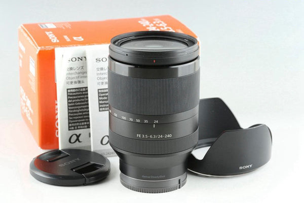 Sony FE 24-240mm F/3.5-6.3 OSS Lens for Sony E #25714
