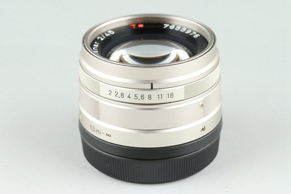 Contax Carl Zeiss Planar T* 45mm F/2 Lens for G1/G2 #25719A1