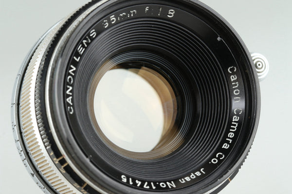 Canon 35mm F/1.8 Lens for Leica L39 #25724C1