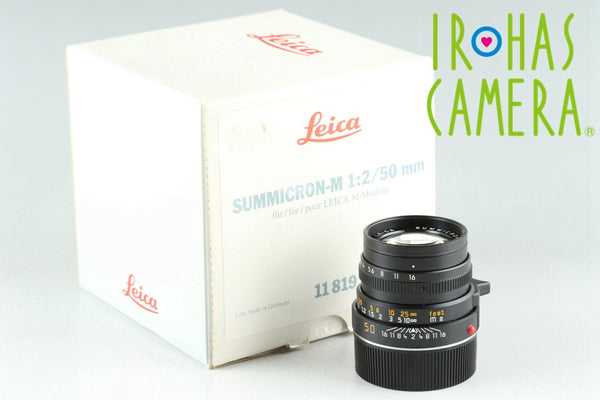 Leica Summicron-M 50mm F/2 E39 Lens for Leica M With Box #25792
