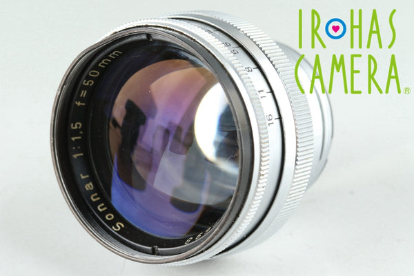 Carl Zeiss Sonnar 50mm F/1.5 Lens for Contax RF #25836F4