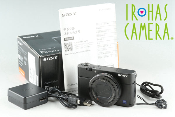 Sony Cyber-Shot DSC-RX100M3 Digital Camera With Box *Japanese Language Only* #25837