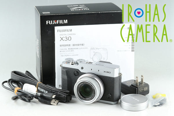 Fujifilm X30 Digital Camera With Box #25890