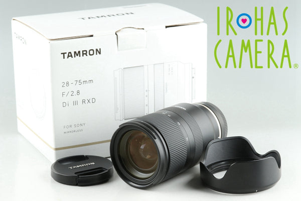 Tamron 28-75mm F/2.8 Di III RXD Lens for Sony E With Box #25894