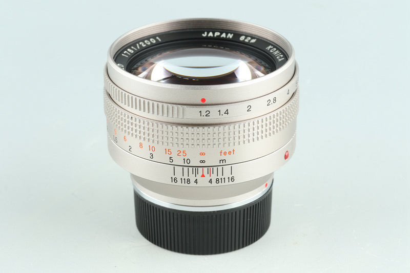 Konica M-Hexanon 50mm F/1.2 Limited Lens for Leica M #25918C2
