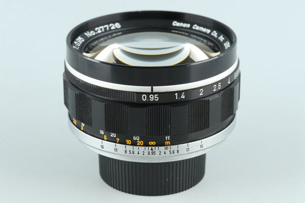 Canon 50mm F/0.95 Lens Modified to Leica M #26022F4