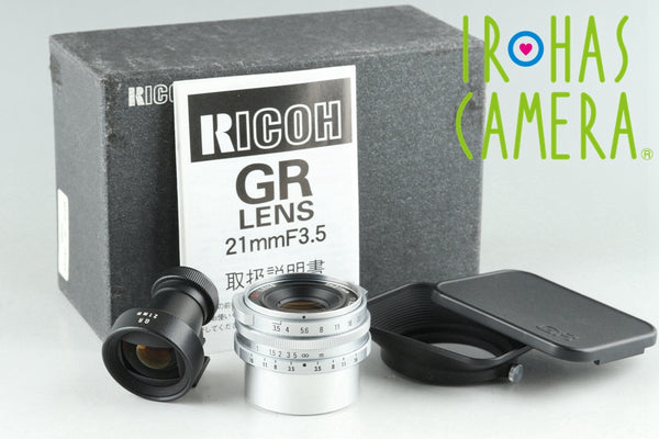 Ricoh GR 21mm F/3.5 Lens for Leica L39 With Box #26038F1