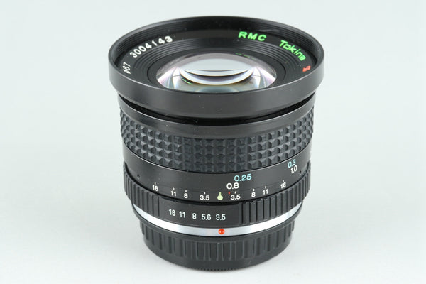 RMC Tokina 17mm F/3.5 Lens for Pentax K #26048G2