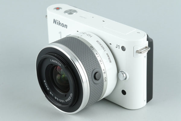 Nikon 1 J1 Digital Camera + 10-30mm F/3.5-5.6 Lens #26099D5