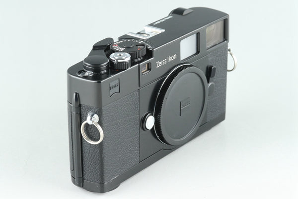 Zeiss Ikon ZM 35mm Rangefinder Film Camera In Black #26142D2