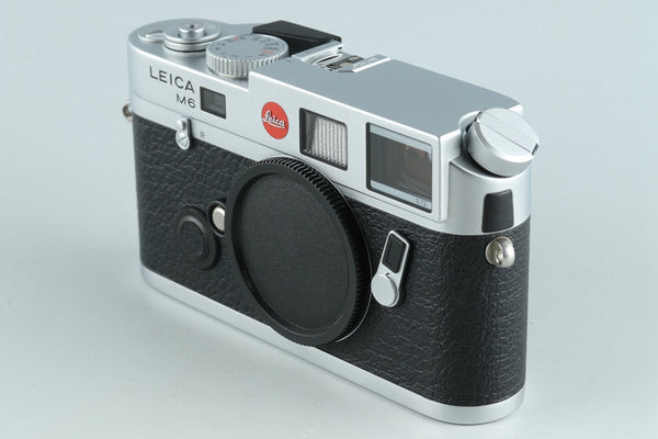 Leica M6 TTL 0.72 35mm Rangefinder Film Camera In Silver With Box #26143