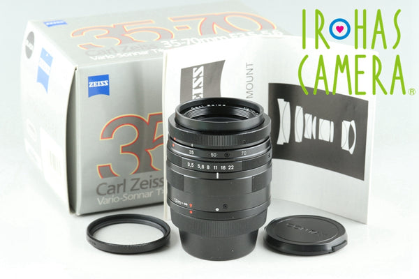 Contax Carl Zeiss Vario-Sonnar T* 35-70mm F/3.5-5.6 Lens for G1/G2 With Box #26159F1