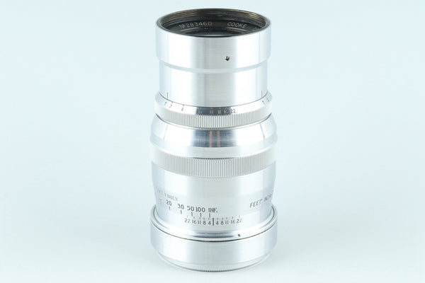 Cooke Deep Field Panchro 100mm F/2.5 Lens for Bell & Howell Foton #26179I1
