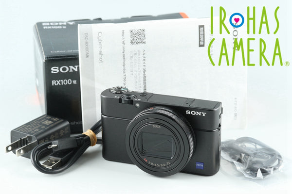 Sony Cyber-Shot DSC-RX100M6 Digital Camera With Box *Japanese Language Only * #26207