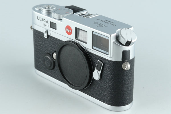 Leica M6 TTL 0.85 35mm Rangefinder Film Camera In Silver #26210