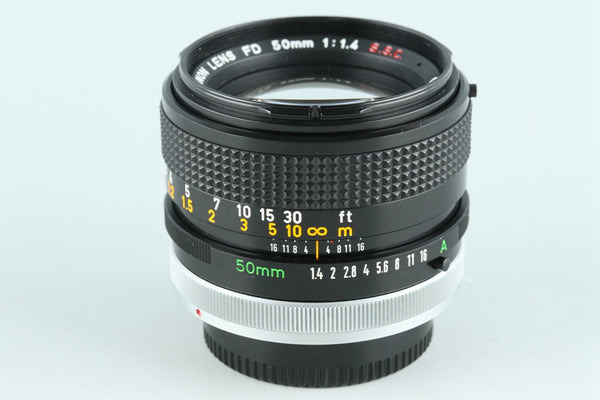 Canon FD 50mm F/1.4 S.S.C. Lens #26246F3