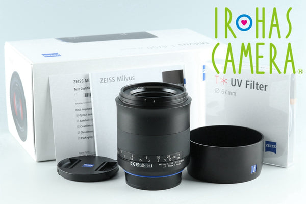 Zeiss Milvus Distagon T* 50mm F/1.4 ZE Lens for Canon With Box #26315