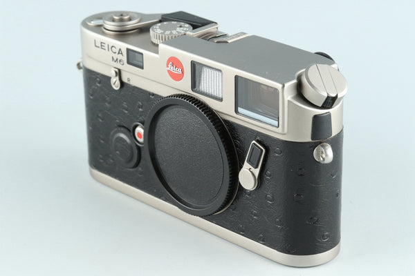 Leica M6 Titanium 35mm Rangefinder Film Camera With Box #26319