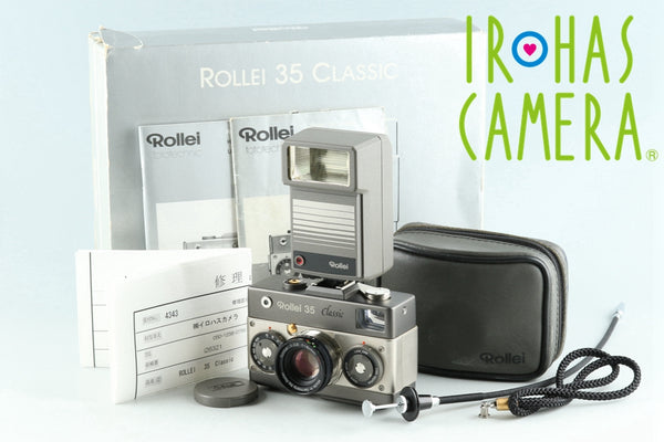 Rollei 35 Classic 35mm Compact Film Camera With Box #26321