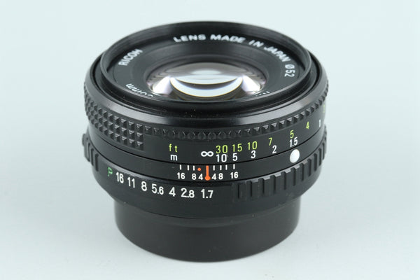 Ricoh Rikenon P 50mm F/1.7 Lens for Pentax K #26343I1