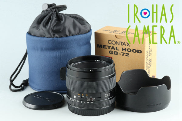 Contax Carl Zeiss Planar T* 80mm F/2 Lens for Contax 645 #26372H1