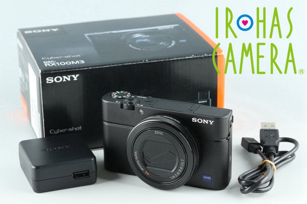 Sony Cyber-Shot DSC-RX100M3 Digital Camera With Box *Japanese Language Only #26381