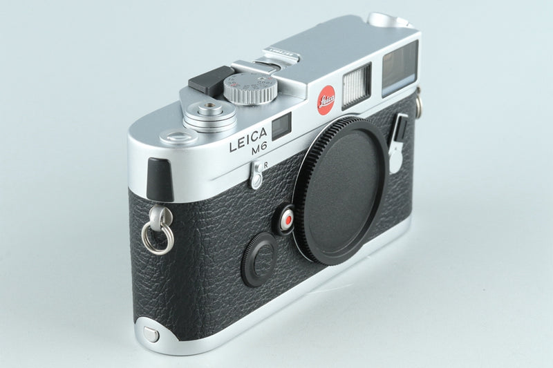 Leica M6 0.72 35mm Rangefinder Film Camera In Silver #26437D3