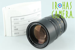 Laica Leitz Summicron-M 90mm F/2 Lens for Leica M #26450C1