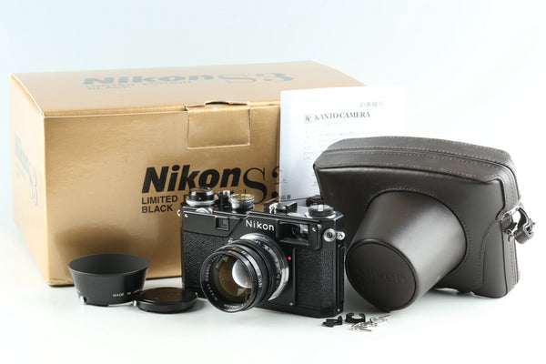 Nikon S3 Limited Edition Black With Box #26452L4