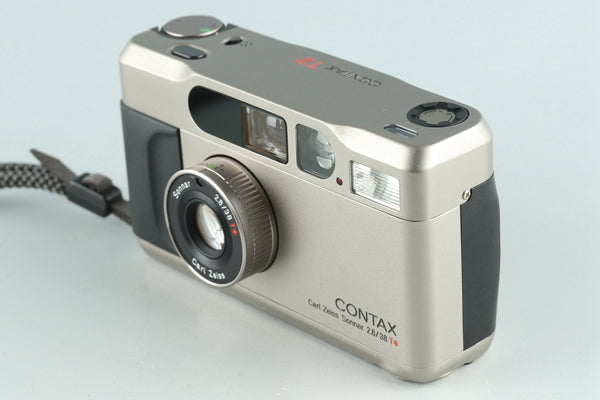 Contax T2 35mm Point & Shoot Film Camera With Box #26461