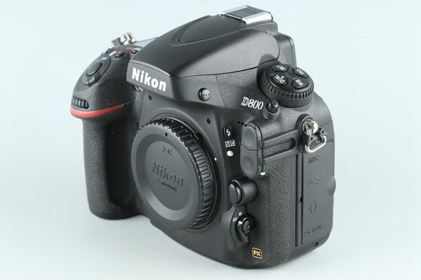 Nikon D800 Digital SLR Camera *Shutter Count 4760* #26467D4