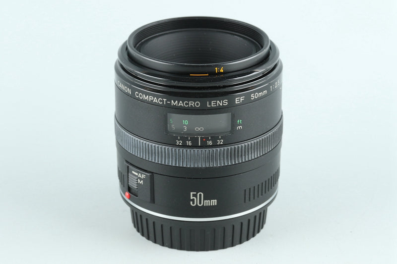 Canon EF 50mm F/2.5 Compact-Macro Lens #26485F4