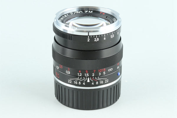 Carl Zeiss Planar T* 50mm F/2 ZM Lens for Leica M Mount #26521C1