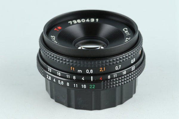 Contax Carl Zeiss Tessar T* 45mm F/2.8 MMJ Lens for CY Mount #26676A1