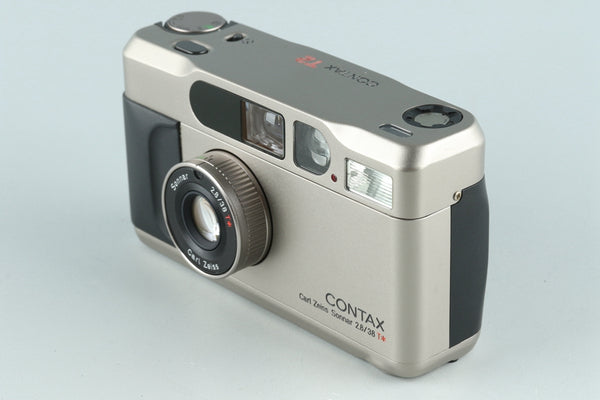 Contax T2 35mm Point & Shoot Film Camera #26765D1