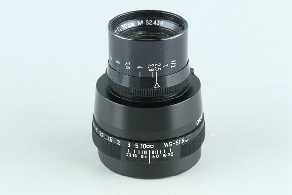 Apochromat Kinoptik Paris 50mm F/2 Lens for Leica M #26798C1