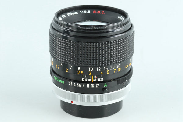 Canon FD 100mm F/2.8 S.S.C. Lens #26860F4