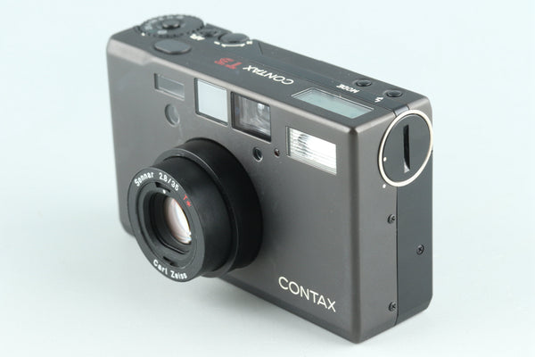 Contax T3D 35mm Point & Shoot Film Camera #26892D2
