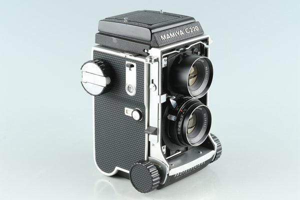 Mamiya C220 Medium Format TLR Film Camera + 80mm F/3.7 Lens #26898E1