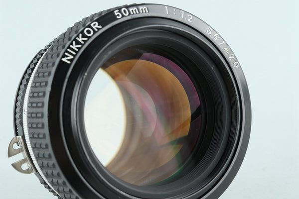 Nikon Nikkor 50mm F/1.2 Ais Lens With Box #26905F1